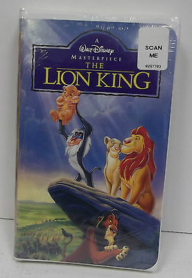 The Lion King (VHS, 1995), New. Sealed. Masterpiece Collection