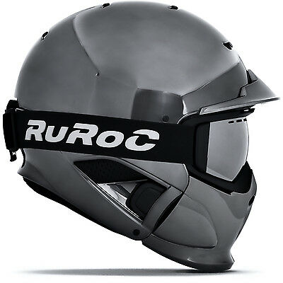 Ski Helm Ruroc RG1-DX Limited Edition Shadow Chrome #0790