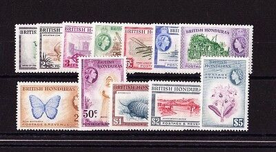 British Honduras 1953 Complete Set Sg 179-190 Mint.