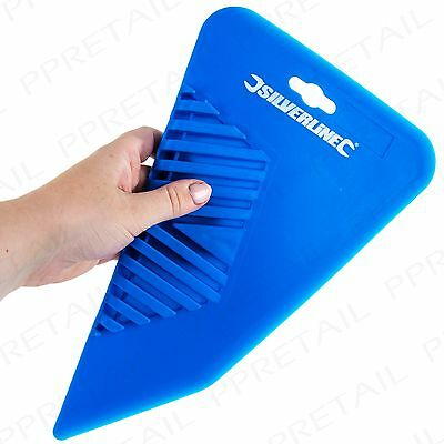 PREMIUM 280mm WALLPAPER BUBBLE SMOOTHER Paper Hanging Decorating Paste Hand Tool