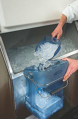 Rubbermaid Commercial ProServe 74-Ounce Ice Scoop With Hand Guard, FG9F5000TBLUE