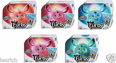 Brand New FURBY CONNECT Pink Orange Purple Blue Teal Christmas Toy Hasbro Apps