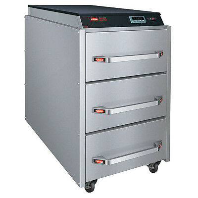 Hatco CDW-3N Free-Standing Narrow 3 Drawer Warmer with Programmable Controls