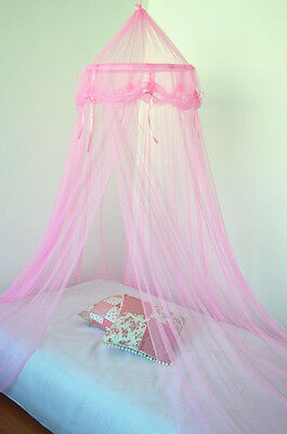 PINK bed canopy PRINCESS MOSQUITO NET