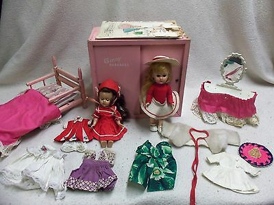 VINTAGE VOGUE COMPANY GINNY DOLL AND ACCESSORIES ca. 1950