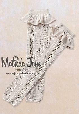 Matilda Jane KATHLEEN Sweater Leg Warmers FRIENDS FOREVER Tan Sand ~ OS NWT tt