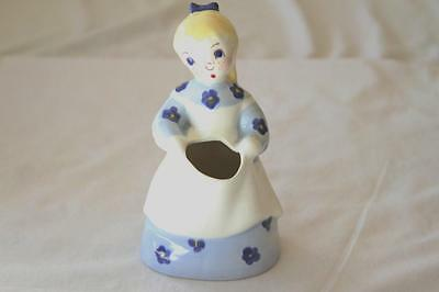 Brayton Laguna SALLY Figurine Blonde Hair & Blue Dress California Art Pottery