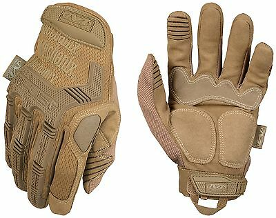 Mechanix Wear Tactical M-Pact Coyote Small, New, Free Shipping