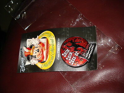 """DISNEY STORE MAGICAL MUSICAL MOMENT""""MARY POPPINS CHIM CHIM CHER-EE red #25 C PIN"""