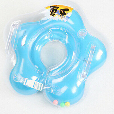 Infant Baby Toolder Swimming Ring Neck Float Ring Swim Inflatable Tube Safety