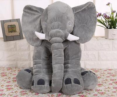Long Nose Elephant Soft Plush Stuff Lumbar Doll Pillow For Baby Kids Toys Gifts