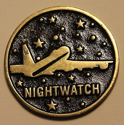 National Airborne Operation Center Nightwatch JCS Air Force Challenge Coin