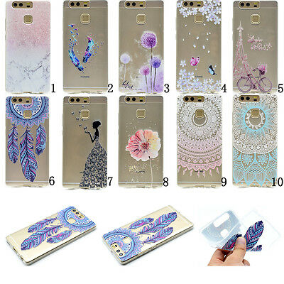 New Slim Clear Soft Silicone TPU Rubber Gel Back Case Cover For HuaWei Lenovo