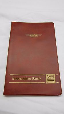 Aston Martin DBS Instruction Book - Collectible for Enthusiast or Owner