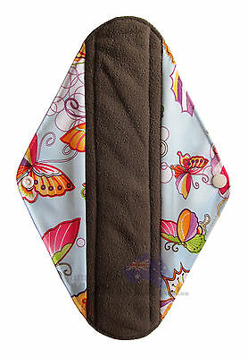 Cloth Menstrual Pads Bamboo Charcol Reusable Sanitary Liner Butterfly HEAVY