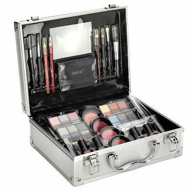 Technic Fabulous Large Beauty Case with Cosmetics 48 Piece set with Mirror