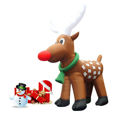 26' Inflatable Reindeer Christmas Holiday Decoration Most Popular Design