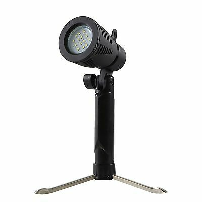 MK Mini Studio Video LED Light  Lamp 5800K 3800K With Foldable Mini Tripod Stand