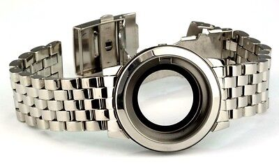 Stainless Steel Watch Housing with Band for Eta 2824-2 Movement Stock Items