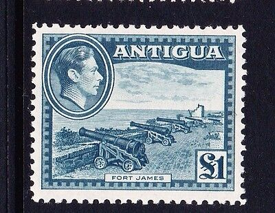 Antigua 1938-51 £1 Slate-Green Sg 109 Mint.