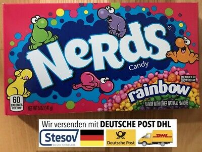 original Wonka Nerds Rainbow 141,7g von Nestle (3,18€/100g)