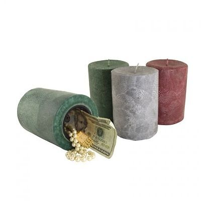 Real Candle Diversion Safe Stash Can Herb Storage