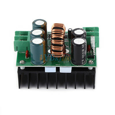 1200W DC-DC Converter Booster Step-up Power Supply Module In 10-60V Out 12-80V
