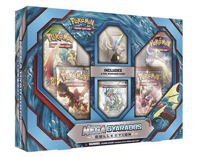 POKEMON TCG Mega Gyarados Collection Box Trading Card