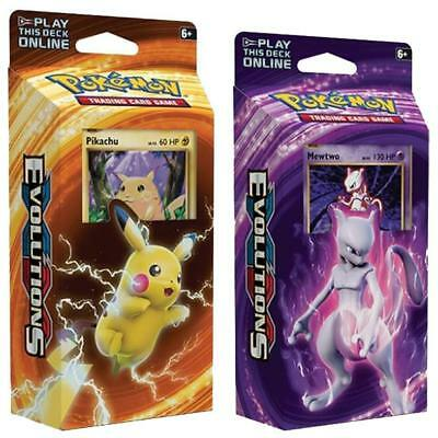 POKEMON TCG XY Evolutions Theme Deck Pikachu & Mewtwo