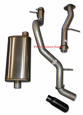 Fits 01-06 Tahoe Yukon Mandrel Bent Exhaust w// Performance Muffler