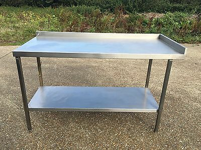 Stainless Steel Work Bench Food Kitchen Catering Table