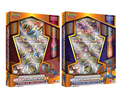 POKEMON Mega Garchomp-EX/Mega Salamence-EX Premium Collection