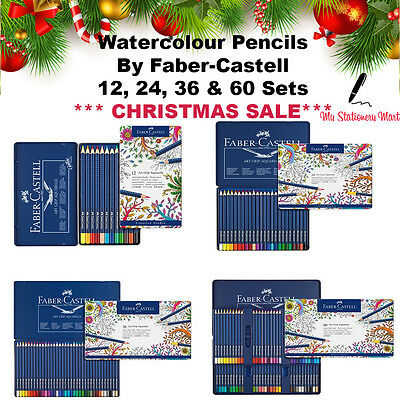 Faber Castell Art Grip Aquarelle Pencils Watercolour Pencils Christmas Gift Set