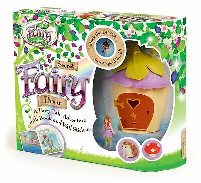 Children Kids My Beautyful Fairy Garden Secret Door Playing Set Age 4+ Years