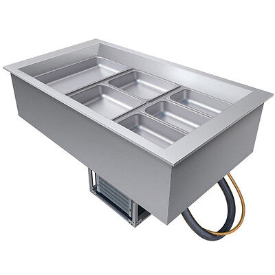 Hatco CWB-3 Three Pan Drop-In Refrigerated Cold Food Well