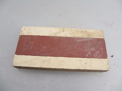 Original Victorian Ceramic Floor Tile Architectural Antique 1800s Vintage Border