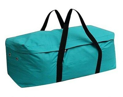 Showman TEAL Water Resistant Nylon Hay Bale Carrier Bag!! NEW HORSE TACK!!