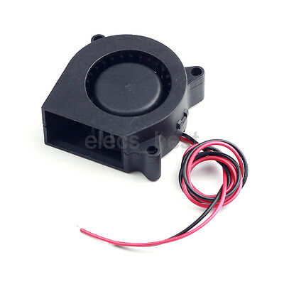 Cooling Fan 4020 Turbo Fan 12V 40*40*20mm /w Cable 30cm for 3D Printer