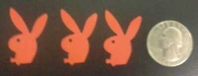 Lot of 50 Tanning Bed  Body Stickers Tattoo  Bunny Rabbit  With BowTie Free USPS
