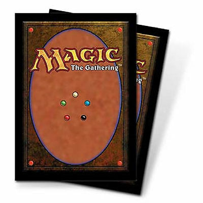 Magic Card Back 80 Deck Protector Sleeves MTG Magic the Gathering 66mm x 91mm
