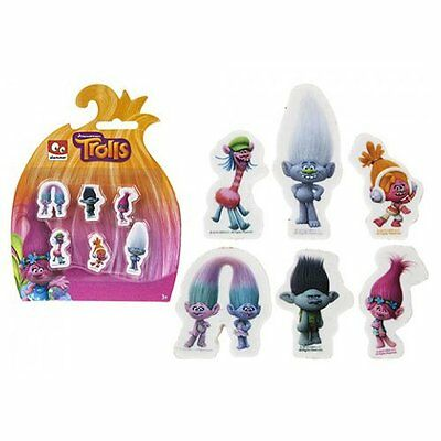 Trolls Stationery Set Novelty Erasers  Rubbers  Xmas Gift Stocking Filler Pencil