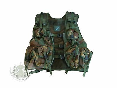 USED - Genuine British Army Issue: DPM Woodland Operations Assault Vest