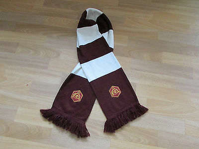 Official ARSENAL Striped with Initial A Logo FOOTBALL Scarf