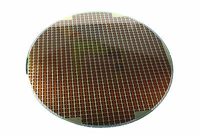 """8"""" DRAM  Silicon Wafer PRIME GRADE with Pattern, 750um, T25L x 16 FAB9 RDL"""