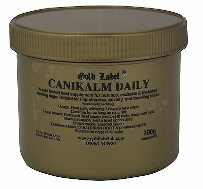Gold Label Canikalm Daily Helps calm and control hyperactivity and anxiety In Do
