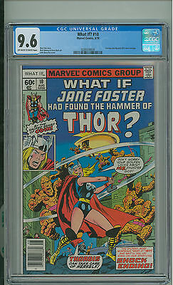 What If #10 CGC 9.6 Jane Foster as Thor Mystrey 83 Homage Marvel 1978