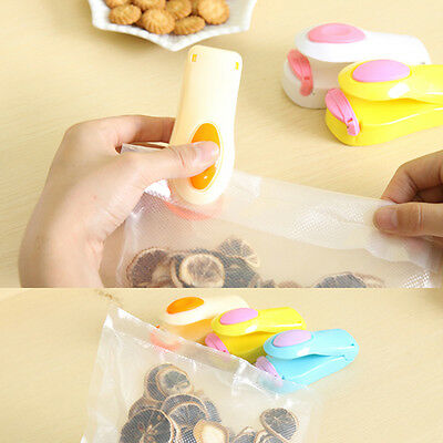 New Portable Sealing Machine for Snacks Biscuits Chips Mini Plastic Bag Sealers