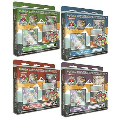Pokemon 2016 World Championship Deck 4 DECKS BUNDLE