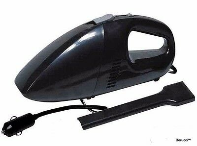 Berucci™ Black 12V Portable Car Vehicle Auto Handheld Vacuum Cleaner Wet Dry