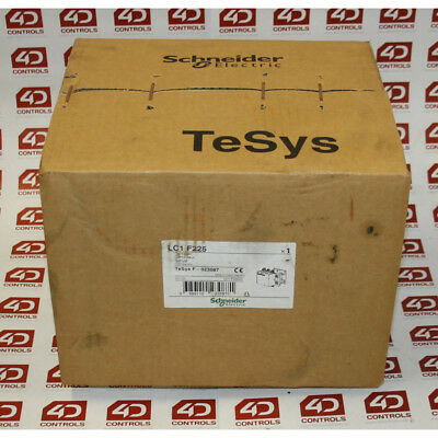 Schneider LC1 F225 Contactor 225A - New Surplus Open